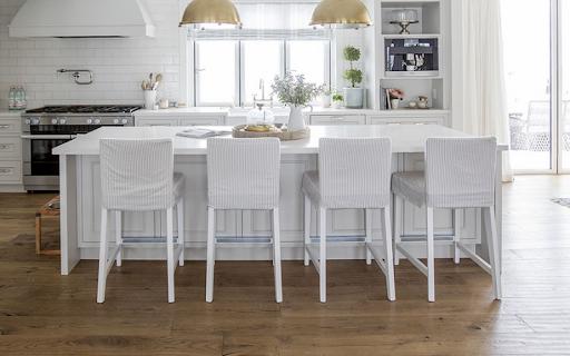 Kitchen of celebrity Jillian Harris