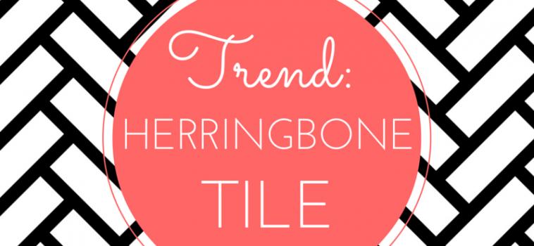 Trend: Herringbone Tile