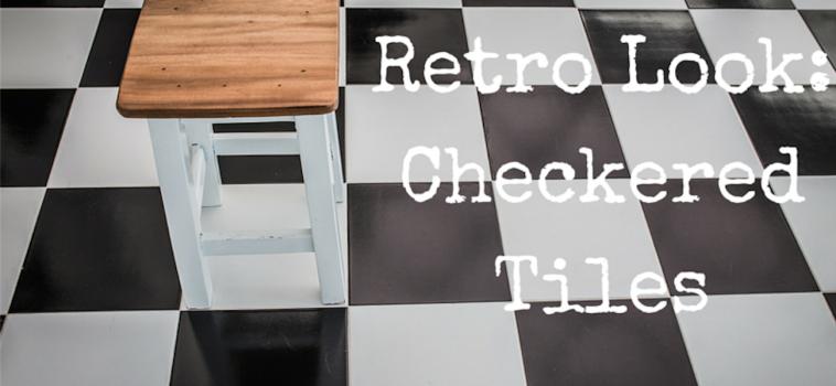 Go Retro with Checkered Tiles