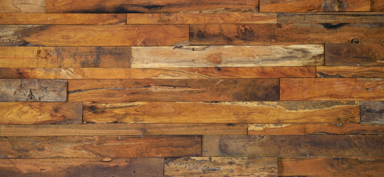 Reclaimed and Rustic Hardwood