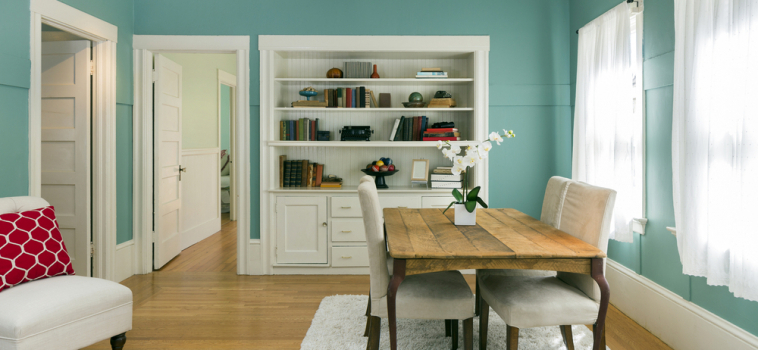 Decorate to Complement Your Hardwood Floor