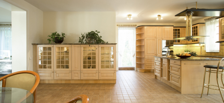 Picking Flooring for Kitchens and Bathrooms
